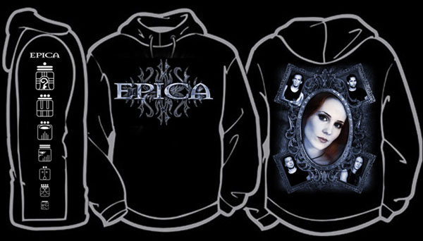The Divine Conspiracy T-shirt  NEW Epica